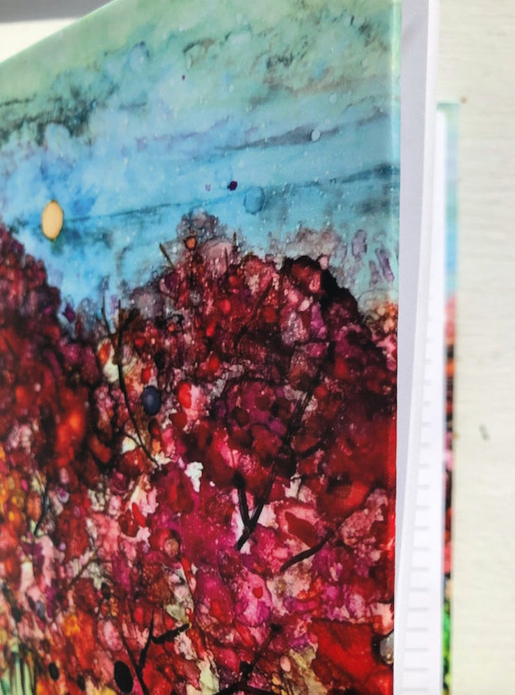 Spring Trees, Hard Cover Journal