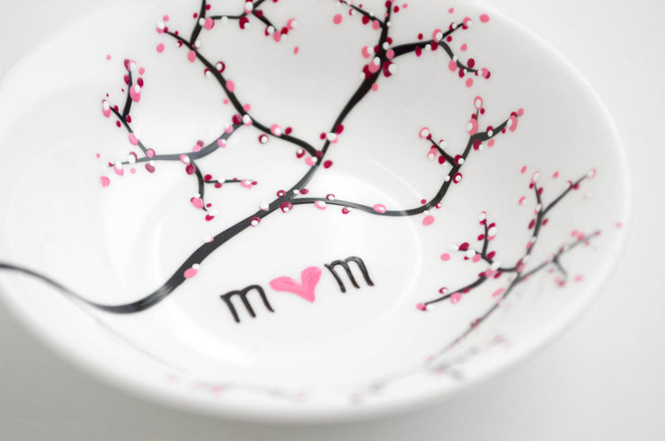 Cherry Blossom Branch Jewelry Dish