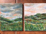Double Landscape : Original Paintings