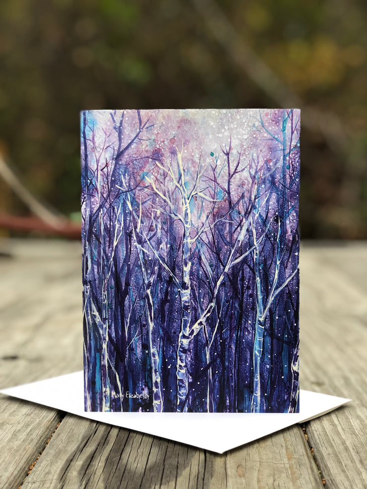 Magical Night : Greeting Card
