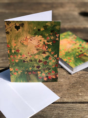 Ivy Lady : Greeting Card