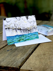 Ocean Rain : Greeting Card