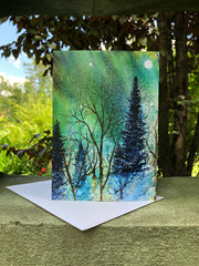 Ethereal Night : Greeting Card