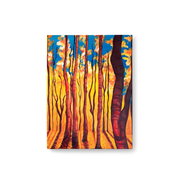 Birch Trees in the Fall, Hard Cover Journal