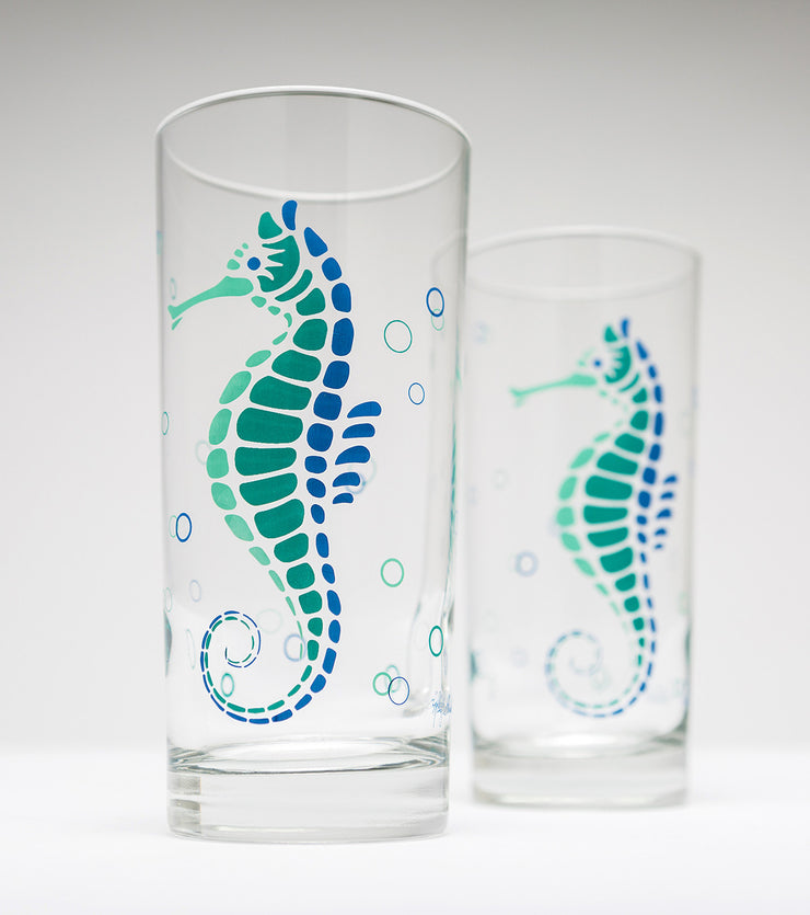 Seahorse Water Glasses