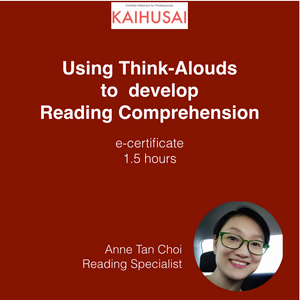 Webinar video: Using Think-Alouds To Develop Reading Comprehension
