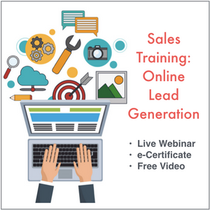 Sales Training: Online Lead Generation 10/31/2020 9am-12noon