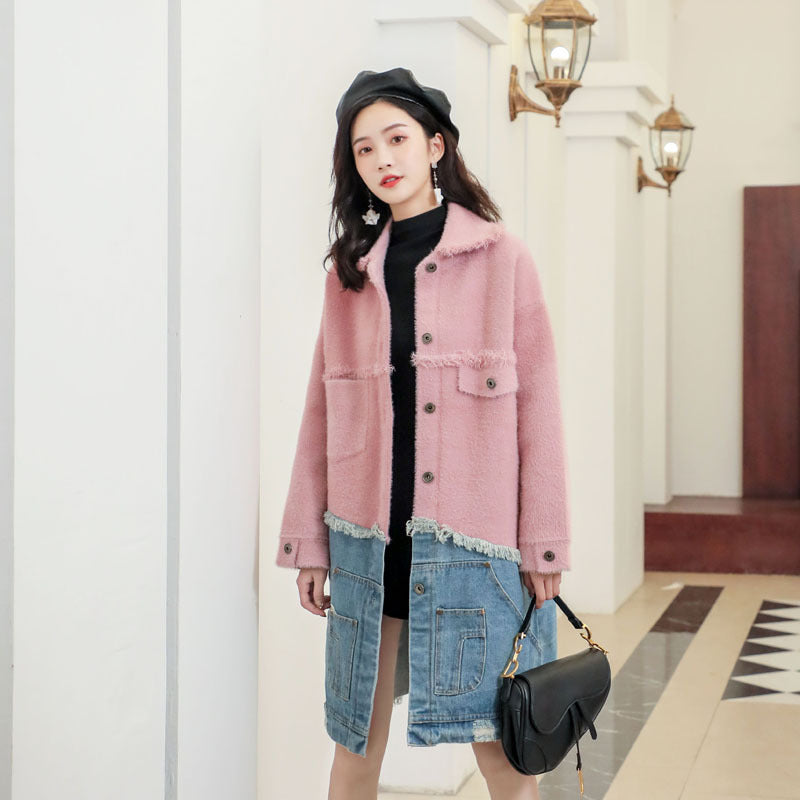 Nora Ombre Denim Coat