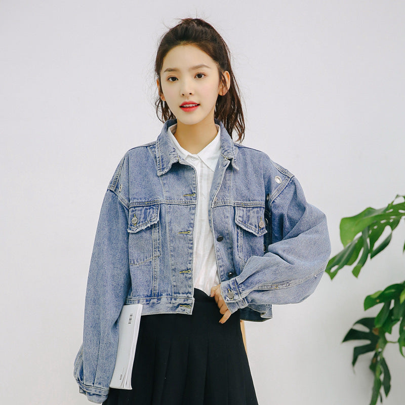 Suzy Cropped Denim Jacket