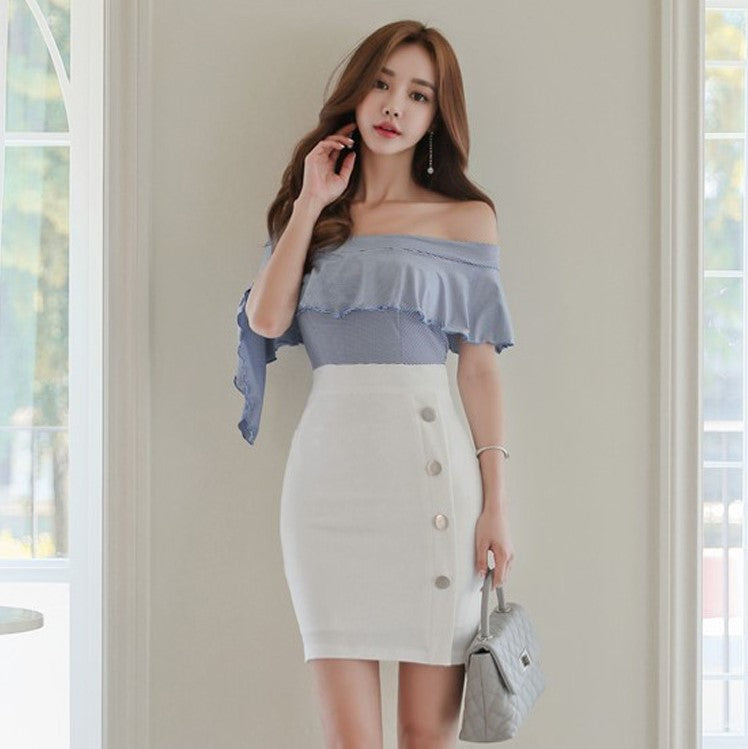 Aurora Off Shoulder Dress
