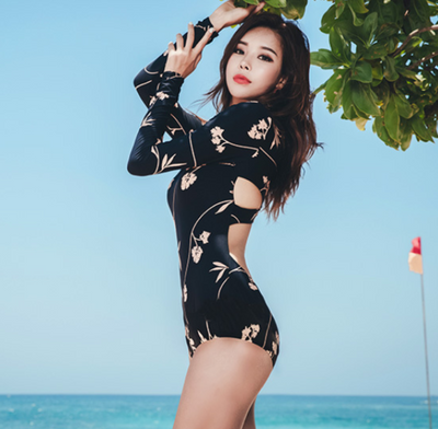 Rosy Floral Swimsuit