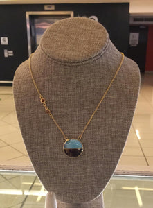 Larimar and Ambar Necklace