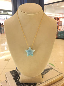 Star Larimar Necklace