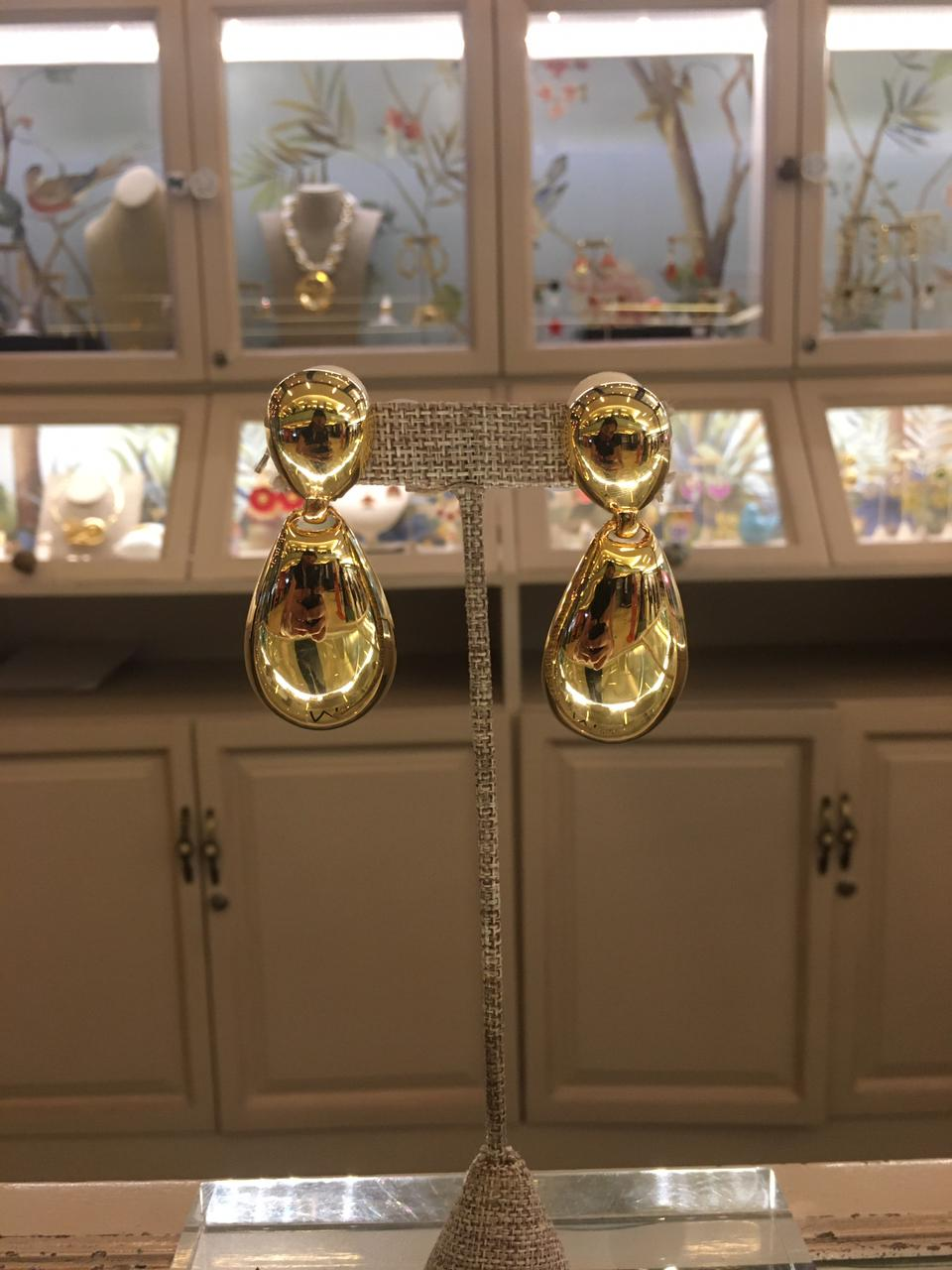 Gold Double Earring