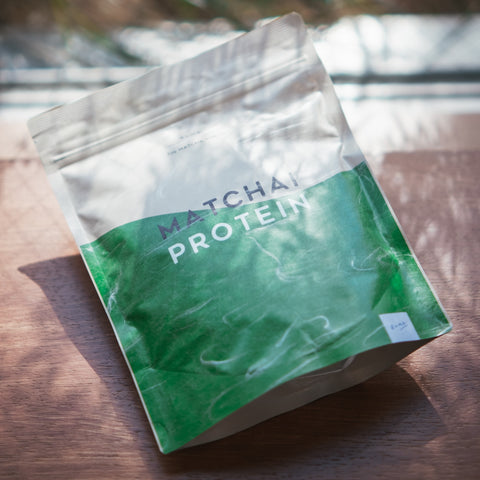 matcha protein package