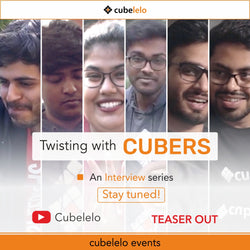 Twisting with Cubers | An Interview Series by Cubelelo