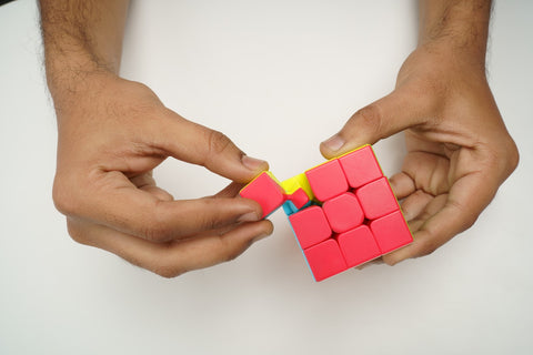 how to magnetize a rubiks cube