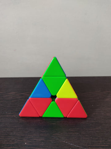 how to solve a pyraminx advanced method