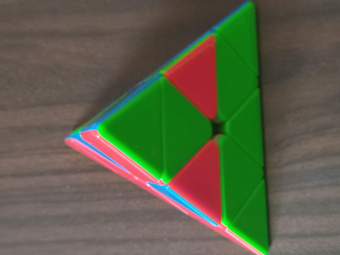 how to solve a pyraminx last layer