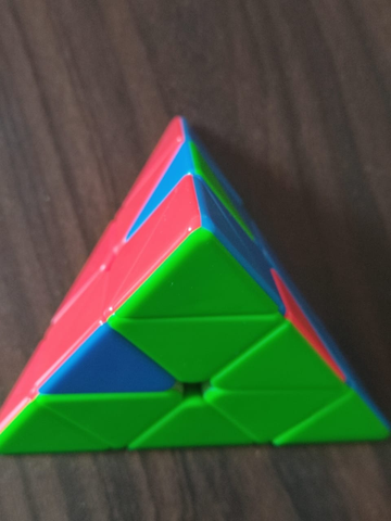 how to solve a pyraminx step by step