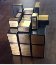 how to solve second layer of mirror cube