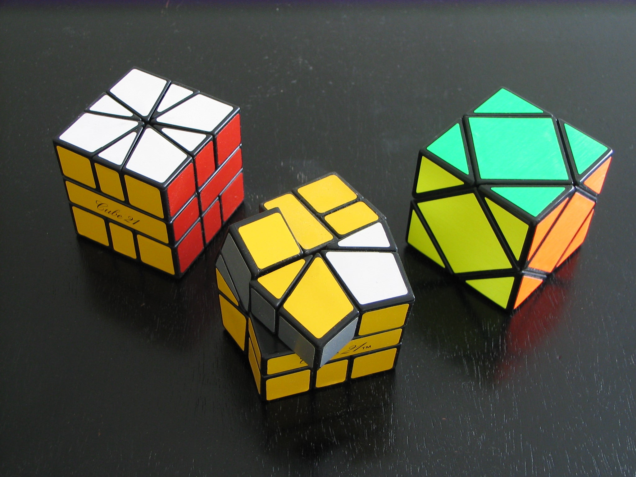 types of twisty cube puzzles