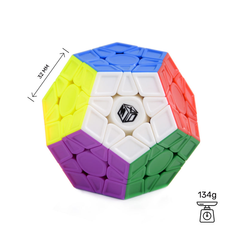 qiyi-x-man-galaxy-megaminx-v2-stickerless-sculpture 03