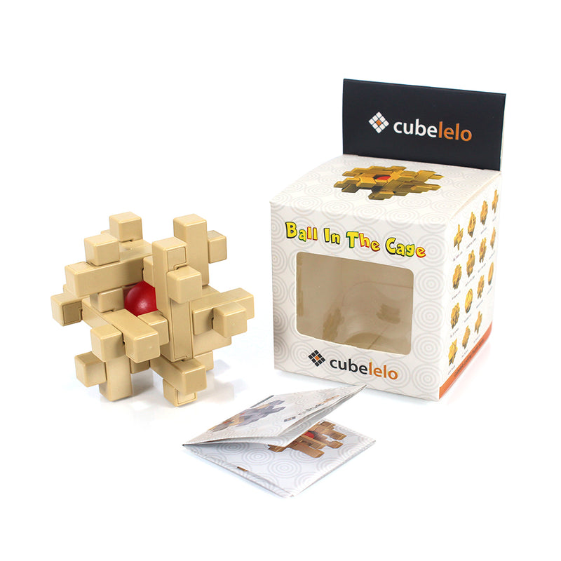 Cubelelo Ball In The Cage Puzzle-Locking Puzzles-Cubelelo