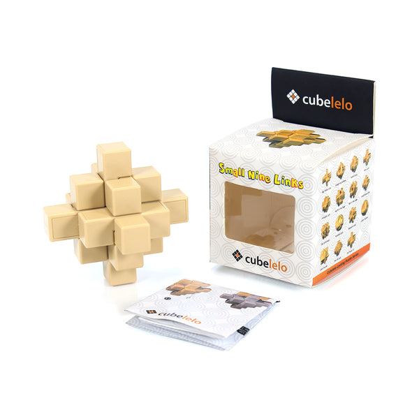 Cubelelo Small Nine Links Puzzle-Locking Puzzles-Cubelelo