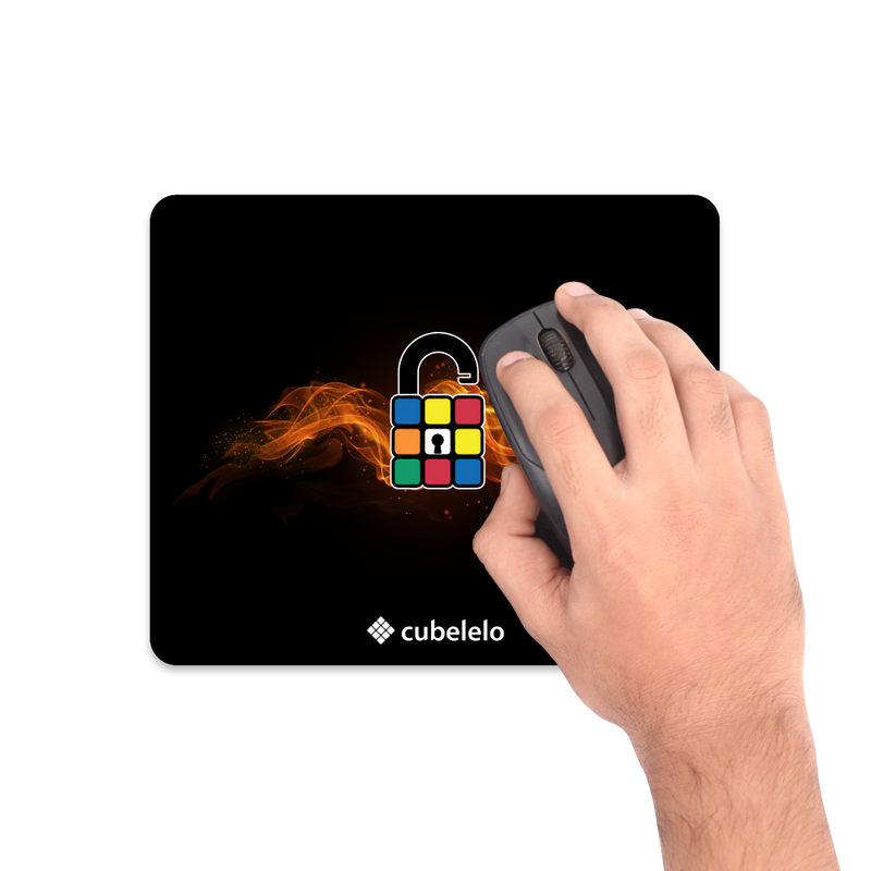 Cubelelo SpeedCubing Un-locked Mouse Pad-Mouse Pads-Cubelelo