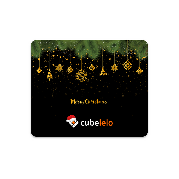 Cubelelo X-Mas Mouse Pad-Mouse Pads-Cubelelo