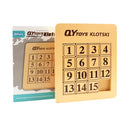 QiYi Number Sliding Magnetic Klotski Lite (15 Blocks)-Sliding Puzzles-QiYi
