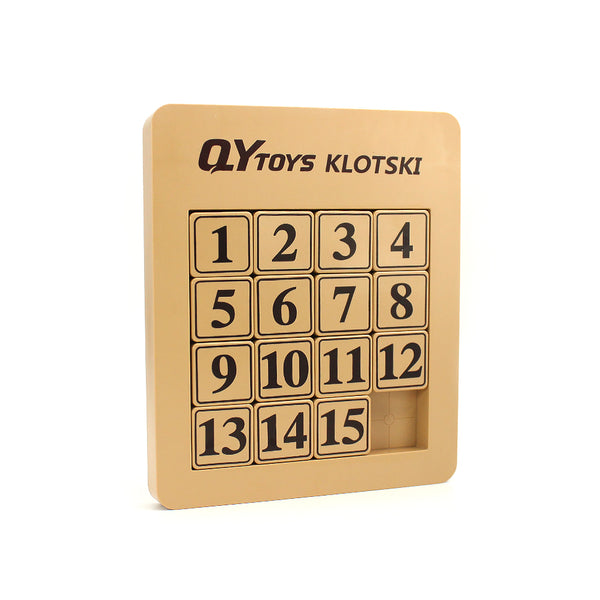 QiYi Number Sliding Magnetic Klotski Lite (15 Blocks)