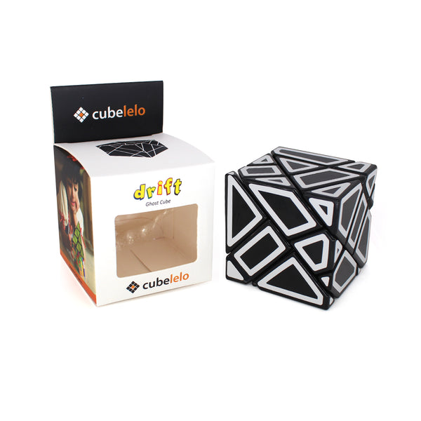 Cubelelo Drift Ghost Cube (Hollow Sticker)-Cube Shaped-Cubelelo