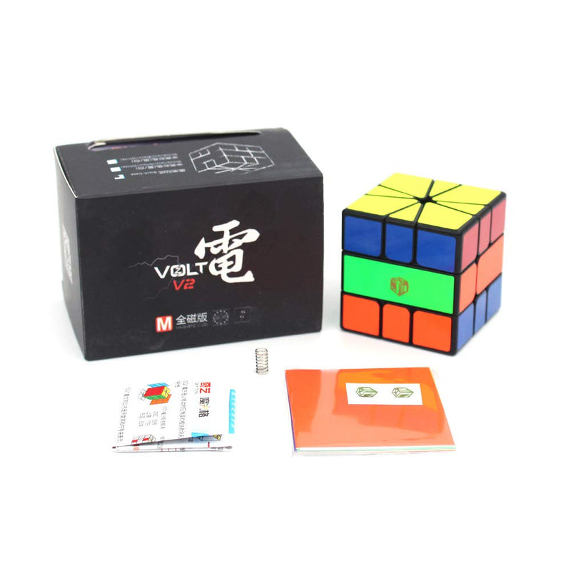 QiYi X-Man Volt v2 M Square-1 (Fully Magnetic)-Square-1-QiYi