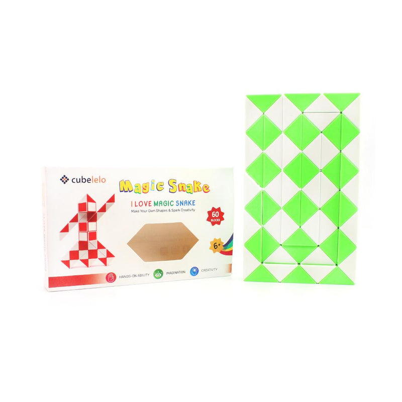 Cubelelo Magic Snake (60 Wedges)-Snake Puzzles-Cubelelo