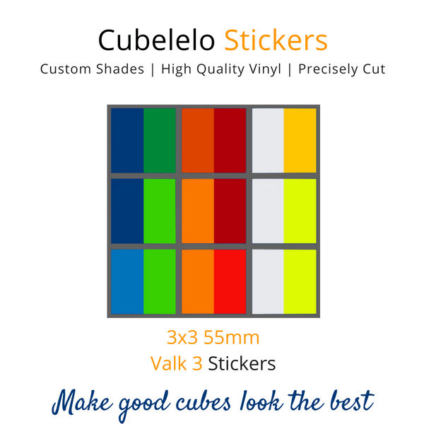 Valk 3 3x3 Stickers-Stickers-Cubelelo