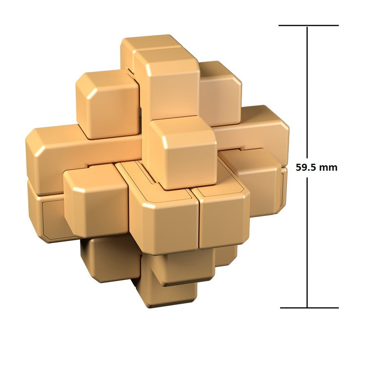 Cubelelo Sealed Lock Puzzle