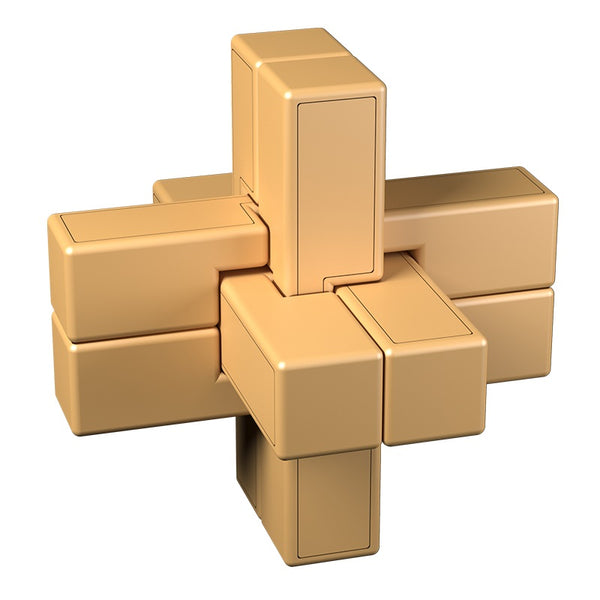 Cubelelo Six Pieces v1 Puzzle-Locking Puzzles-Cubelelo