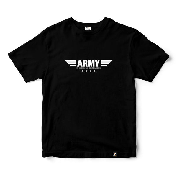 CubeInk Army Round Neck T-Shirt-Cubing T-Shirts-CubeInk