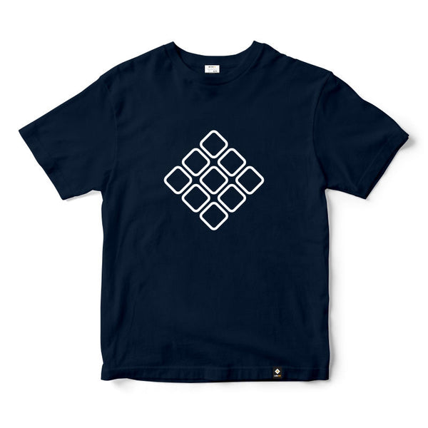 CubeInk Cubelelo Logo Round Neck T-Shirt-Cubing T-Shirts-CubeInk