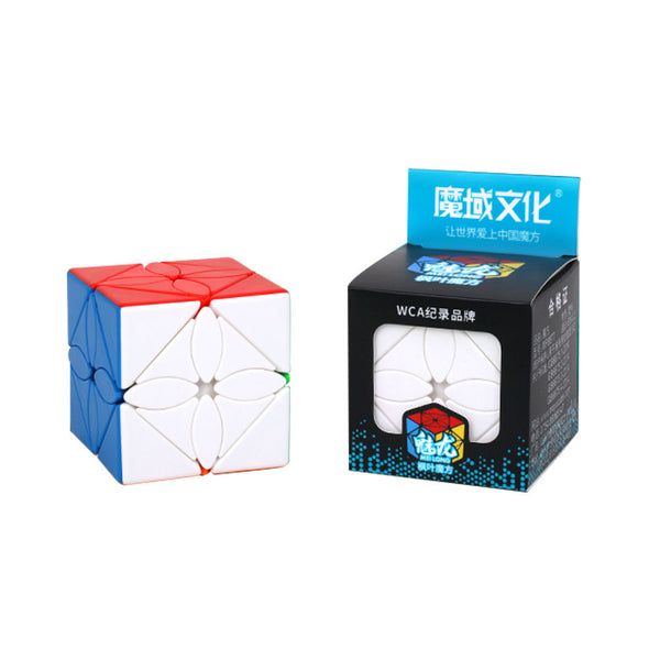 mfjs-meilong-maple-leaf-skewb-stickerless-cubelelo-1