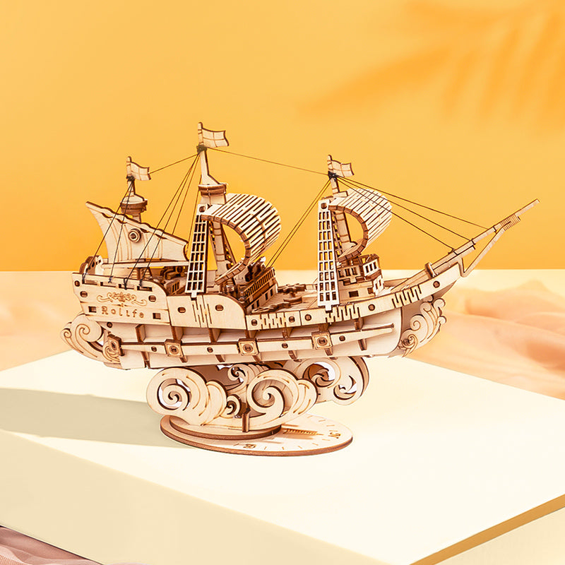 Sailing ship-DIY-ROBOTIME