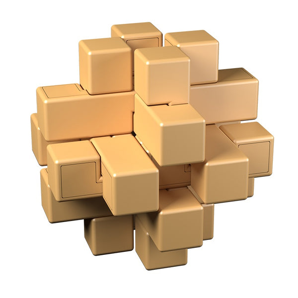 Cubelelo # Shape Lock Puzzle-Locking Puzzles-Cubelelo