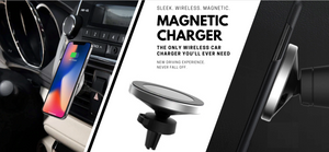 Magnetic Car Qi Charger