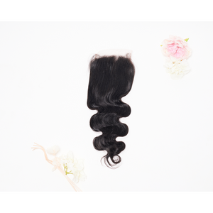 Virgin Indian Body wave closures - Dolce Rosa