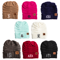 Personalized Slouchy Beanies