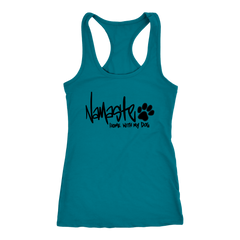 Namaste Home With My Dog Tank (11 colors)