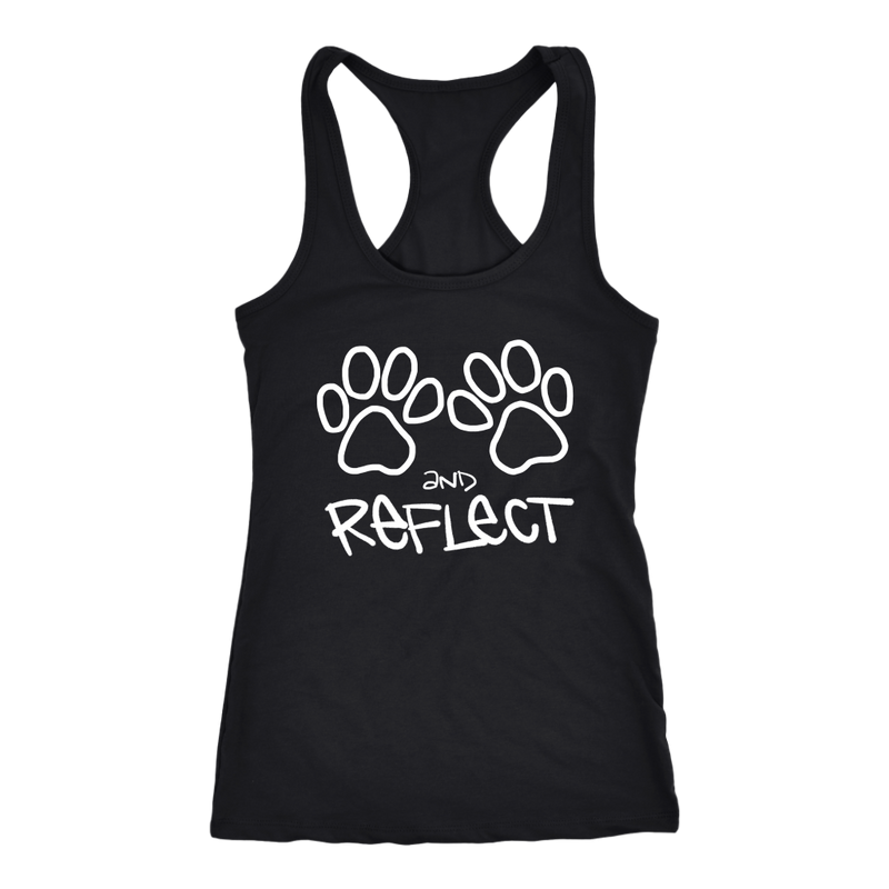 Paws and Reflect Racerback Tank (14 colors)