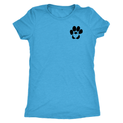 Dog Paw with Heart (7 Colors)